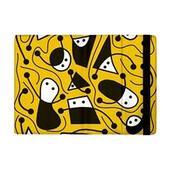 Playful abstract art - Yellow Apple iPad Mini Flip Case