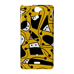 Playful abstract art - Yellow Sony Xperia V