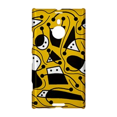 Playful abstract art - Yellow Nokia Lumia 1520