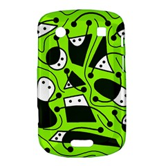 Playful abstract art - green Bold Touch 9900 9930