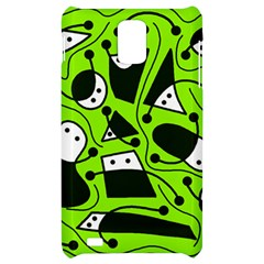 Playful abstract art - green Samsung Infuse 4G Hardshell Case
