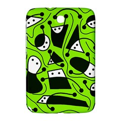 Playful abstract art - green Samsung Galaxy Note 8.0 N5100 Hardshell Case
