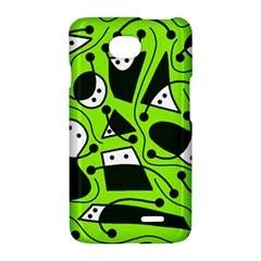 Playful abstract art - green LG Optimus L70