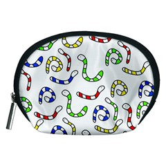 Colorful worms  Accessory Pouches (Medium)