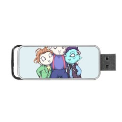 Fred, Sloth, Maurice  Portable USB Flash (Two Sides)