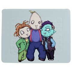 Fred, Sloth, Maurice  Jigsaw Puzzle Photo Stand (rectangular)