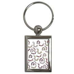Cute worms Key Chains (Rectangle)