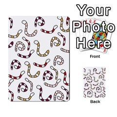 Cute worms Multi-purpose Cards (Rectangle)