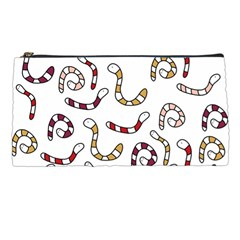 Cute worms Pencil Cases