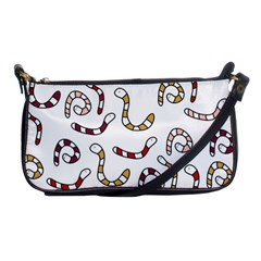Cute worms Shoulder Clutch Bags
