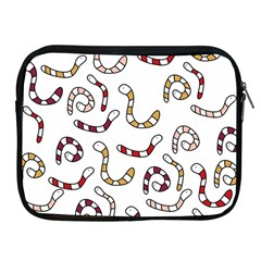 Cute worms Apple iPad 2/3/4 Zipper Cases
