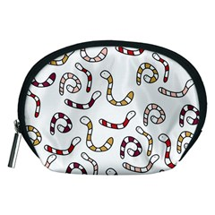 Cute worms Accessory Pouches (Medium)