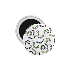 Green worms 1.75  Magnets