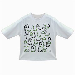 Green worms Infant/Toddler T-Shirts