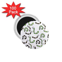 Green worms 1.75  Magnets (100 pack)