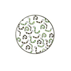 Green worms Hat Clip Ball Marker (10 pack)