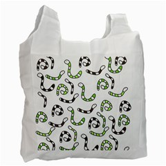 Green worms Recycle Bag (Two Side)