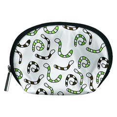 Green worms Accessory Pouches (Medium)