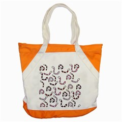 Purple worms Accent Tote Bag