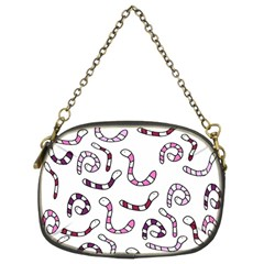 Purple worms Chain Purses (Two Sides)