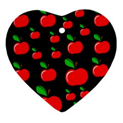 Red apples  Ornament (Heart)