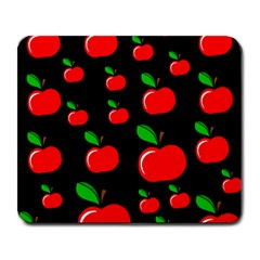 Red apples  Large Mousepads
