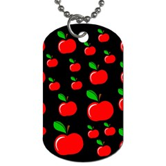 Red apples  Dog Tag (Two Sides)