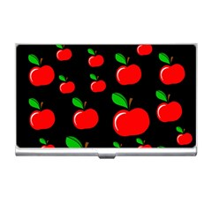Red apples  Business Card Holders