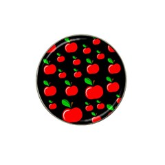 Red apples  Hat Clip Ball Marker (4 pack)