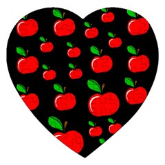 Red apples  Jigsaw Puzzle (Heart)