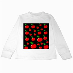 Red apples  Kids Long Sleeve T-Shirts