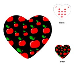 Red apples  Playing Cards (Heart)
