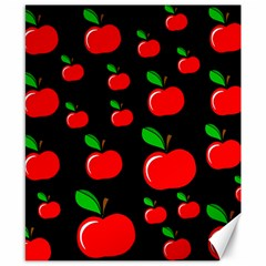 Red apples  Canvas 8  x 10