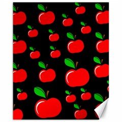 Red apples  Canvas 16  x 20