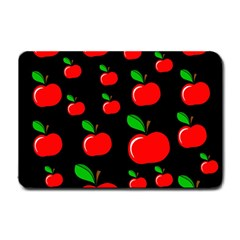 Red apples  Small Doormat