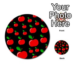 Red apples  Multi-purpose Cards (Round)