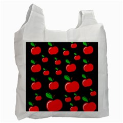 Red apples  Recycle Bag (Two Side)