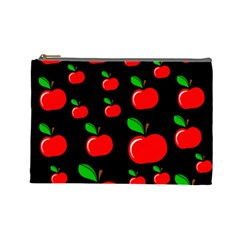 Red apples  Cosmetic Bag (Large)
