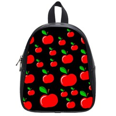 Red apples  School Bags (Small)