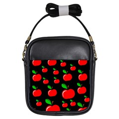 Red apples  Girls Sling Bags