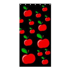 Red apples  Shower Curtain 36  x 72  (Stall)
