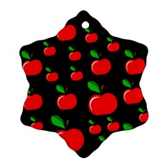 Red apples  Snowflake Ornament (2-Side)