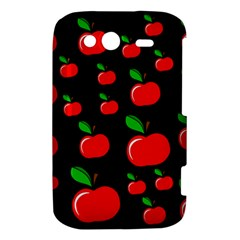 Red apples  HTC Wildfire S A510e Hardshell Case