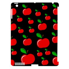 Red apples  Apple iPad 3/4 Hardshell Case (Compatible with Smart Cover)