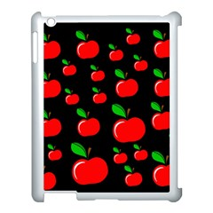 Red apples  Apple iPad 3/4 Case (White)