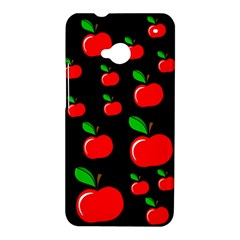 Red apples  HTC One M7 Hardshell Case