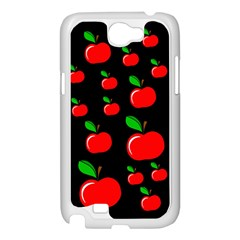 Red apples  Samsung Galaxy Note 2 Case (White)