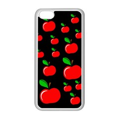 Red apples  Apple iPhone 5C Seamless Case (White)
