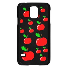Red apples  Samsung Galaxy S5 Case (Black)