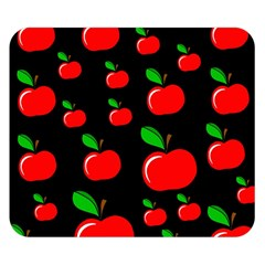 Red apples  Double Sided Flano Blanket (Small)